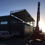 Extension de bureau à Cosnes et Romain