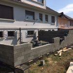 Extension d'une maison à Longwy-maçonnerie