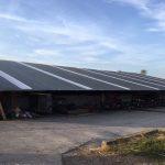 Rénovation d'une toiture de 3200m²